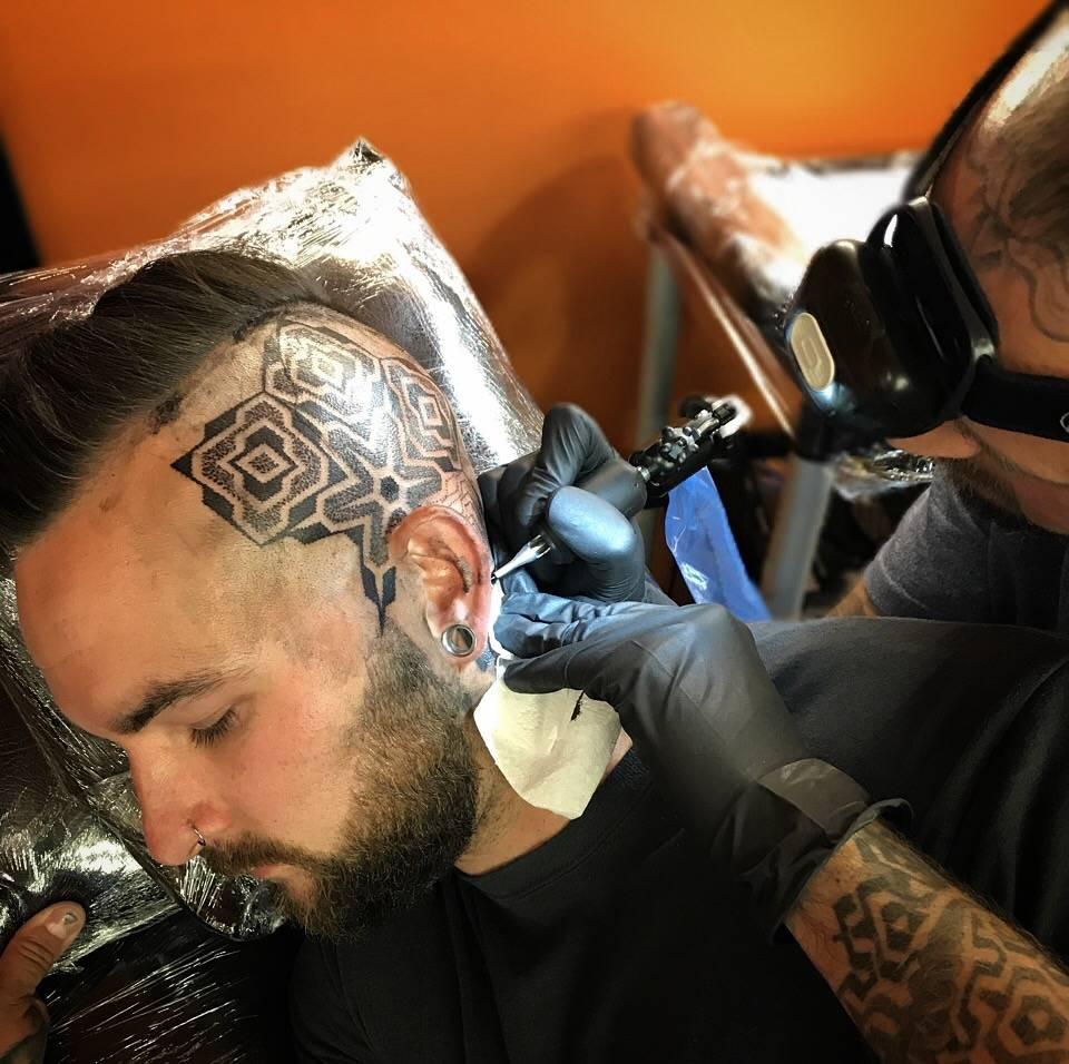 Jonny Breeze Dead Slow Brighton Tattoo Studio