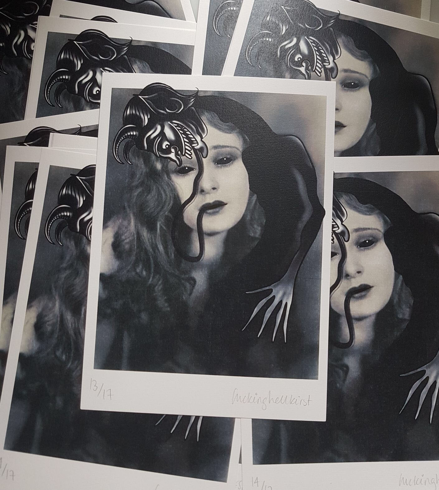 High quality A4 signed and numbered prints by Kirsty Simpson