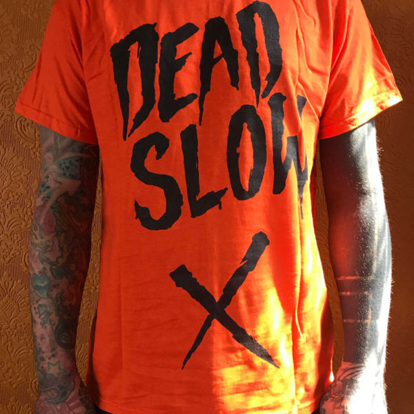 orange 600x600 - Orange Dead Slow T-Shirt