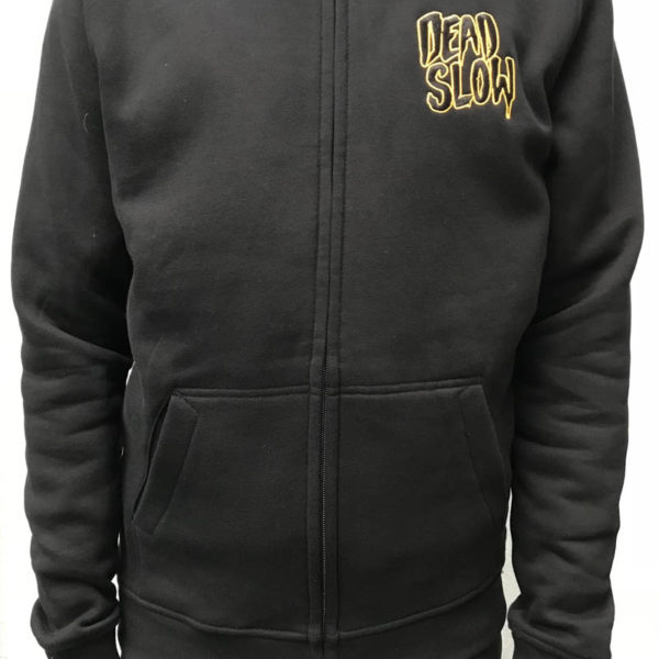 hoodiefront 600x600 - Black and Gold Embroidered Hoodie