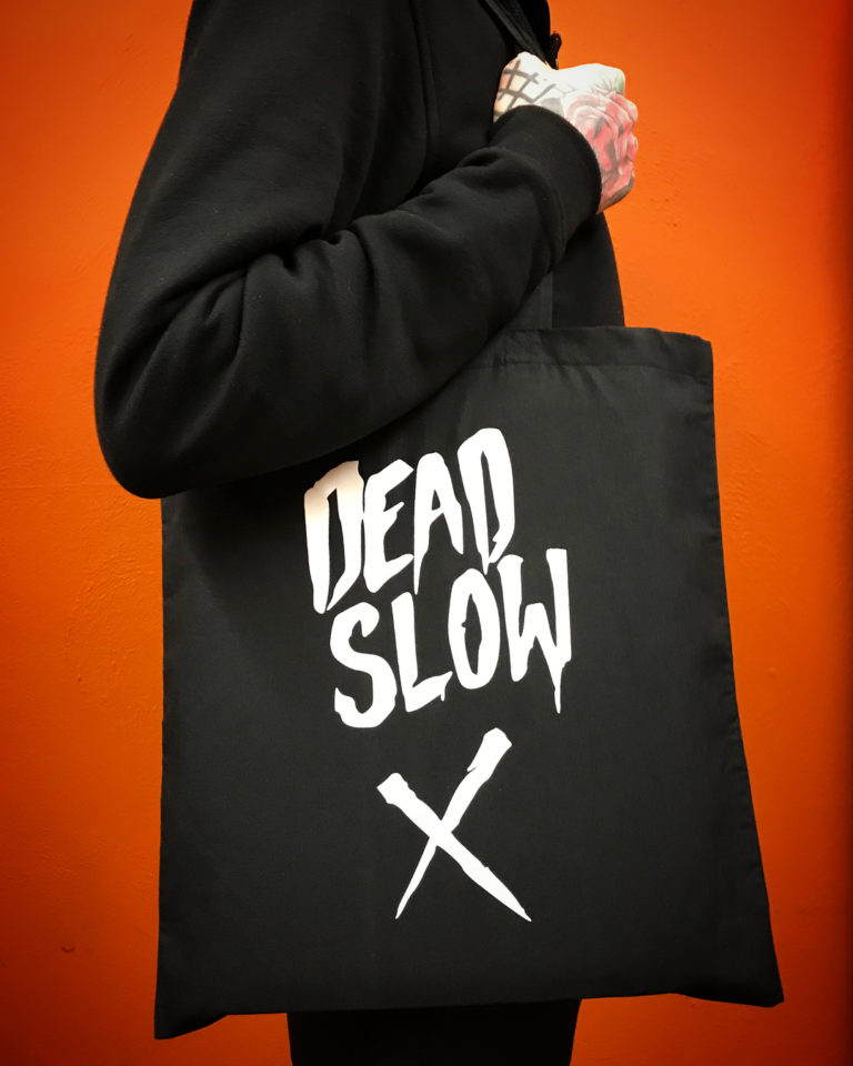 Dead Slow tote bag
