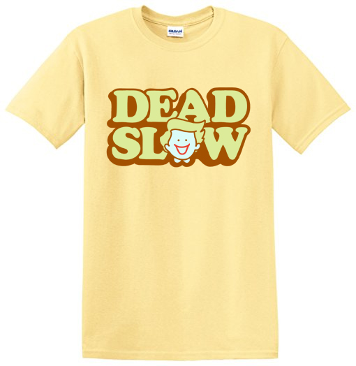shopper t shirt - LIMITED EDITION Dead Slow Happy Shopper T-Shirt