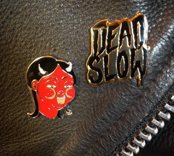 52165305 587530685006065 1480851353854803581 n 600x539 - Devil Woman Enamel Pin by Fuckinghellkirst