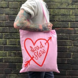 download 1 300x300 - Pink Cotton Dead Slow Tote Bag