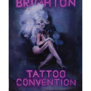 50891627 308677173126623 6526271299053397562 n 300x300 - A2 Brighton Tattoo Convention 2019 poster by Jack Applegate